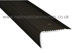 45x23mm Aluminium Stair Nosing For Carpet,Tile & Vinyl - National Stair Nosings & Floor Edgings