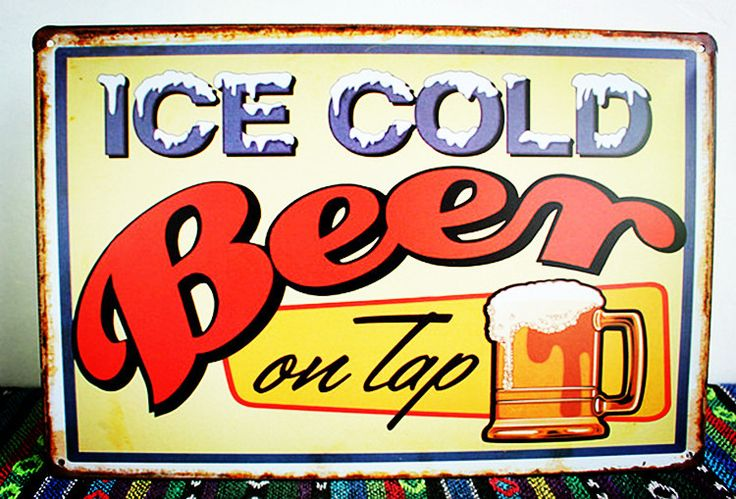 Find More Crafts Information about Retro Tin Sign Cold Beer Pub Bar Restaurant Home Wall Decor Metal Art Poster 20*30 cm HLD19 Free Shipping,High Quality posters usa,China poster flag Suppliers, Cheap poster artwork from Mega-Deal Factory Shop on Aliexpress.com