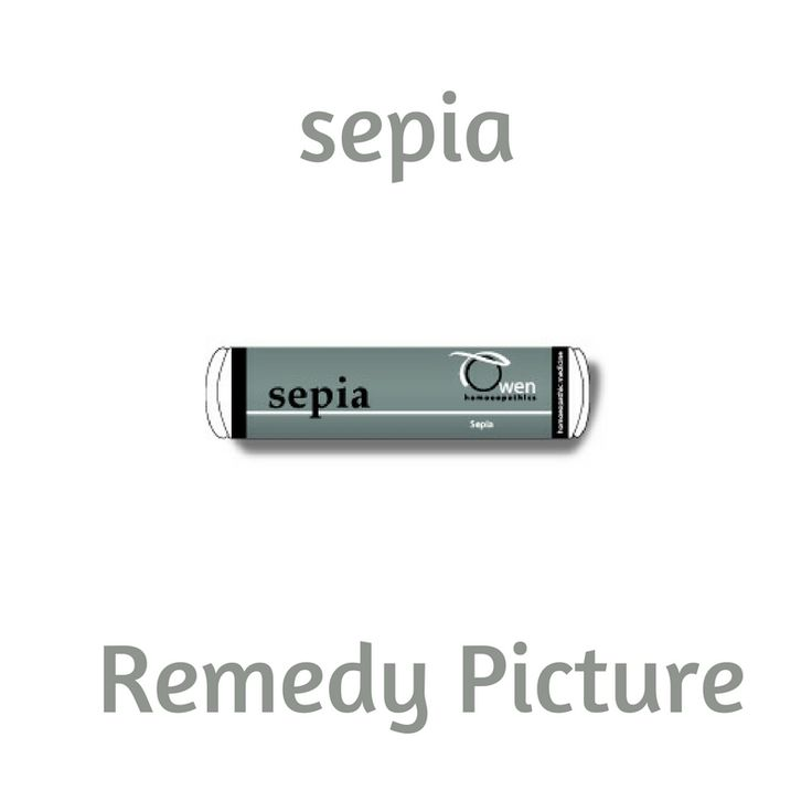 Considered predominantly to be a woman's remedy, Sepia is mainly used in home prescribing to treat issues surrounding hormonal imbalance and exhaustion from over work. It affects venous circulation especially the female pelvic organs where symptoms seem to settle in the lower back area and move upward towards the head.