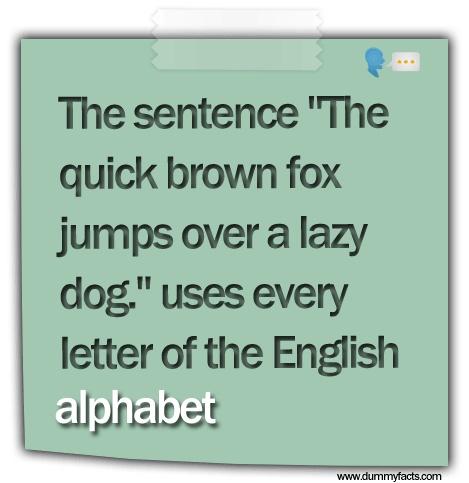 interesting facts about english language pdf