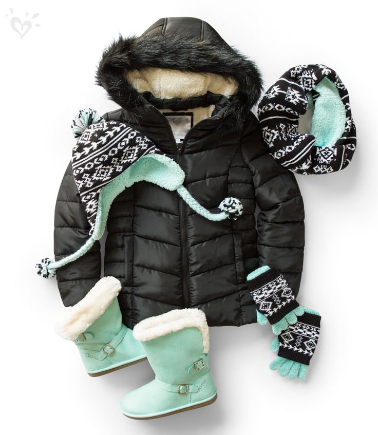Our perfect puffers come in regular and new longer lengths, and have a faux-fur lining that's real warm!