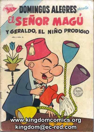 SPANISH - MEXICAN EDITORIAL NOVARO COMICS- DOMINGOS ALEGRES COMICS EDITORIAL NOVARO