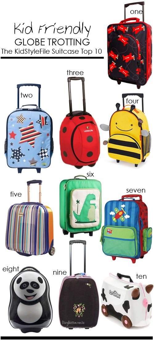17 Best ideas about Kids Luggage on Pinterest | Travel with kids ...