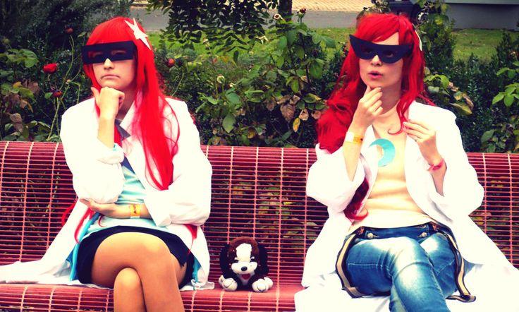 Johnny Test cosplay! Susan Test: Purantan | Mary Test: pearlANDblood  #johnny #test #johnnytest #susan #mary # #susantest #marytest #duckey #funny #cn #cartoon #cartoonnetwork #cosplay #cartooncosplay #scientist # red #redhead #glasses #crazy