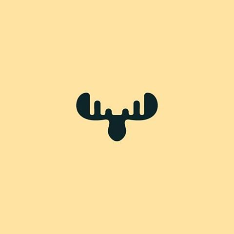 #moose #animal #canada #alaska #scandinavia #russia #logo #icon #horns @logoplace @logoinspirations #minimal