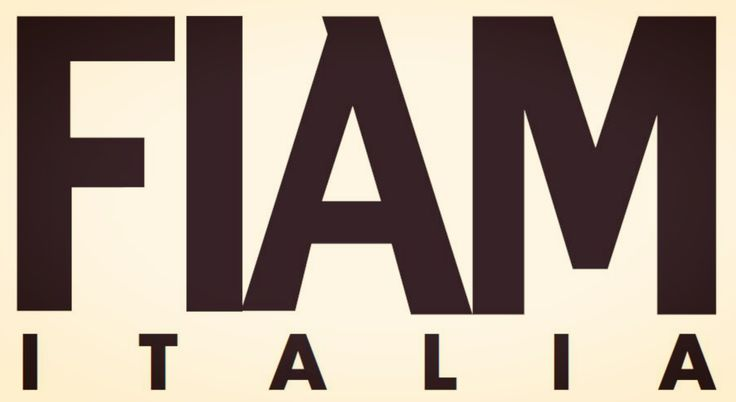 Fiam's logo, 1988. #Fiam #madeinitaly #furniture #glass #interiordesign #design www.fiamitalia.it/