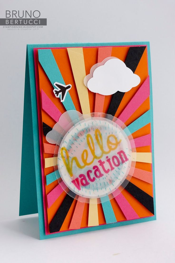 181 best stampin images on pinterest bruno bertucci stampin up lets get away project life cards handmade card kristyandbryce Image collections
