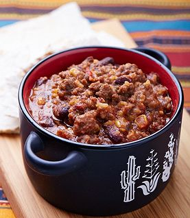Backpacking chili (replace beef with dried mushrooms)