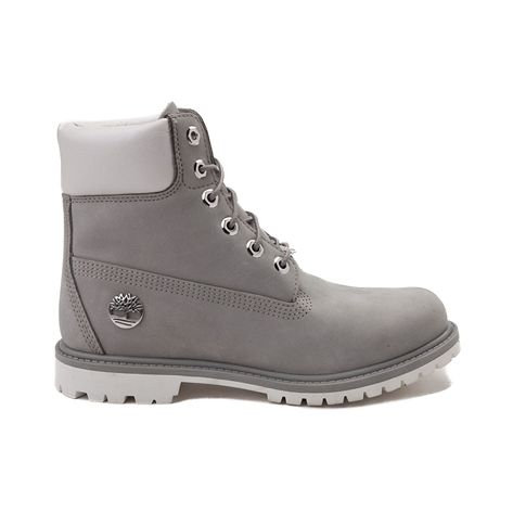 317a785d1241 Womens Timberland 6 Metallic Collar Premium Boot - gray - 538408
