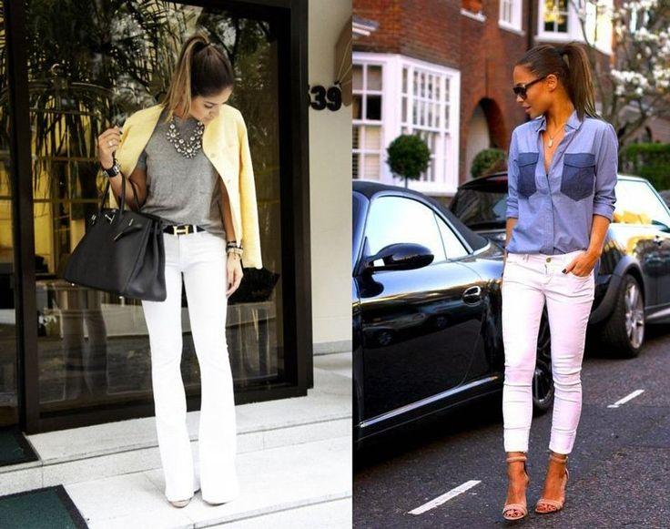 pantaloni bianchi | pantalone bianco