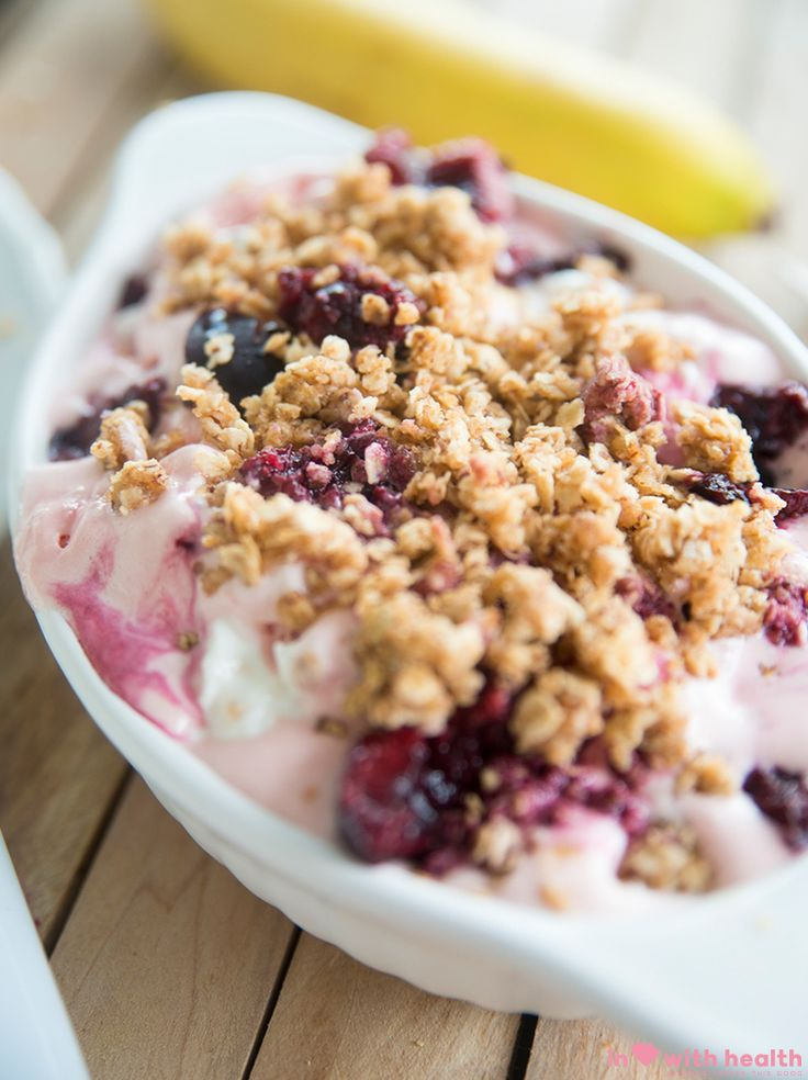 Looking for a new way to indulge in ice cream this summer? Make this healthy cheesecake ice cream recipe now and you will want to eat it all year round!