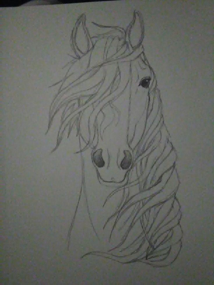 Bleistiftzeichnung – Spirit of the Wind – Kaboomz