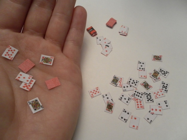 Tiny Deck Of Cards