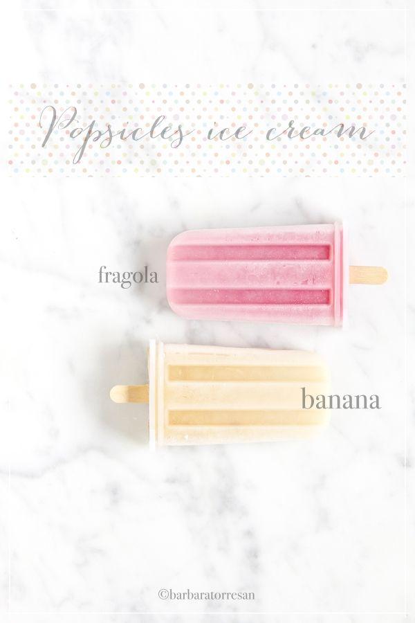 Popsicles ice cream, o: i gelati sullo stecco (veg)