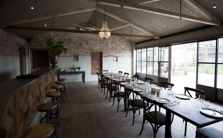 Rustic event space #thewarehouse #bar #events #chefstable #privatespace #functions #meletos #yarravalley #rustic
