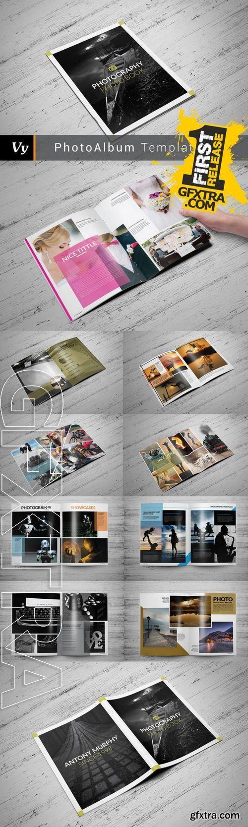 Clean Photo Album Template - CM 280630