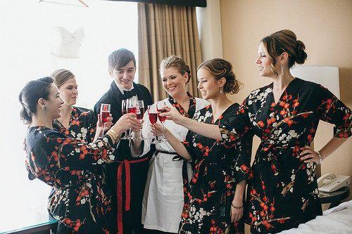 Bridesmaid Robes. Bridesmaids Robes. Bridal by ModernKimonoRobes