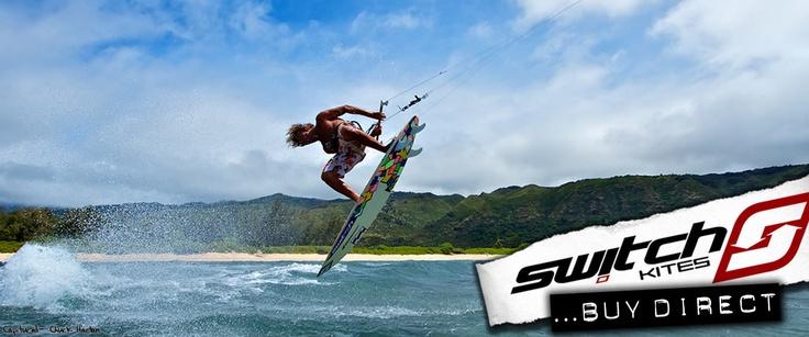 Switch Kites - Buy Direct from the Manufacturer  #Kitesurfing #Kiteboarding #switchkites