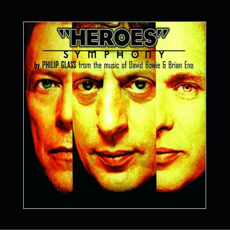 Vinyl Bowie Glass Eno Heroes Symphony Music On Vinyl 2015