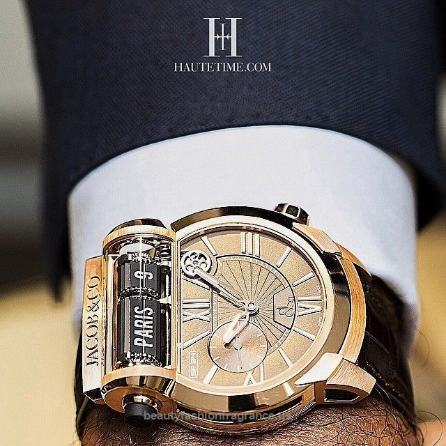 "Haute Time Global on Instagram: ""Bonjour je m'appelle HauteTime  We're travelling with @jacobandco and the Epic SF 24. With 24 times zones and a dual time display. It's…""  Jacob&Co the Epic SF 24. With 24 times zones and a dual time display. It's uses a split-flap display inspired by the mechanical display boards at  ..  http://www.beautyfashionfragrance.us/2017/06/04/haute-time-global-on-instagram-bonjour-je-mappelle-hautetime-were-travelling-with-jacobandco-and-the-epic-sf-24-wit.."
