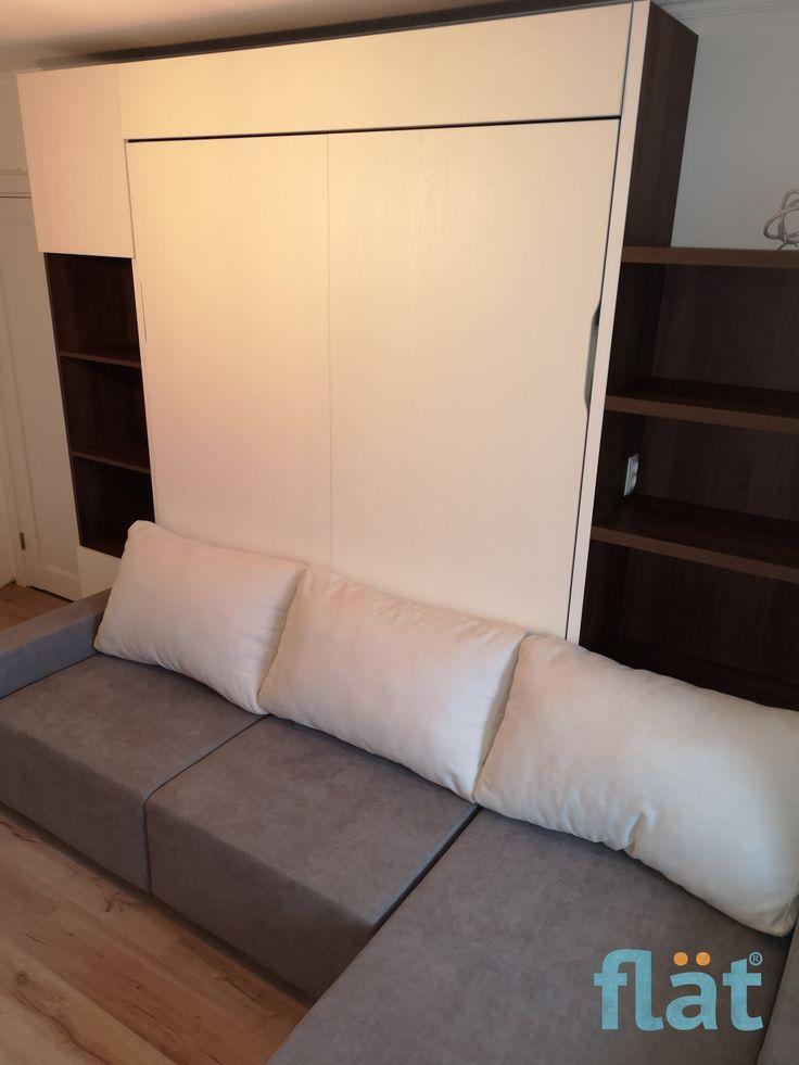 Wallbed Flat Studio Smart Furniture Mebel Transformer Pat