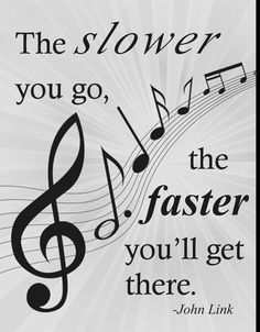Orchestra Classroom Ideas: Practice SLOW!