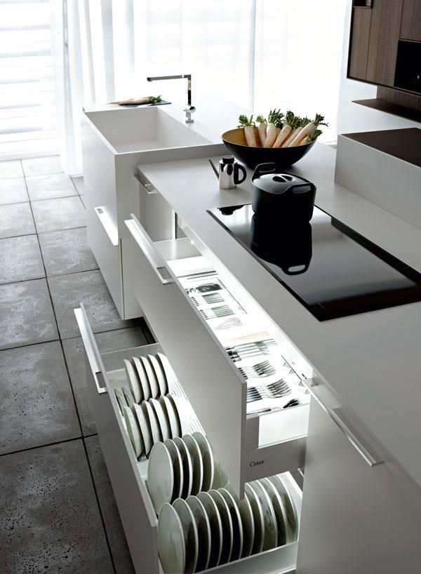 Plate Storage Not Sure If This Makes Sense Modern Kitchen Ideas