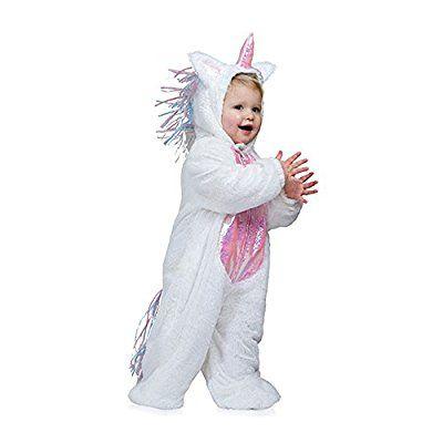 Kostümplanet® Einhorn-Kostüm Baby Kinder-Kostüm Einhornkostüm Faschings-Kostüm Größe 116