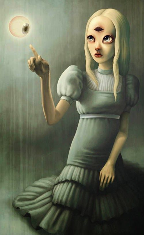BetweenMirrors.com   Alt Art + Culture Collective: The Pop Surrealism of Paolo Pedroni