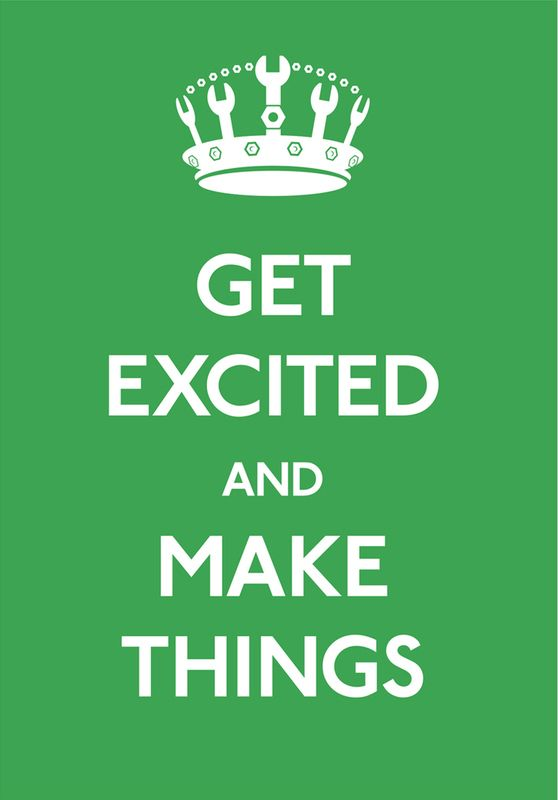 get excited! - @Sarah Bryan this also reminded me of you, especially the crown, Aisle 14 anyone?