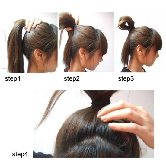 10 different hair styles - chignon, bun - --> http://forums.soompi.com/discussion/354476/10-different-cute-korean-hair-styles