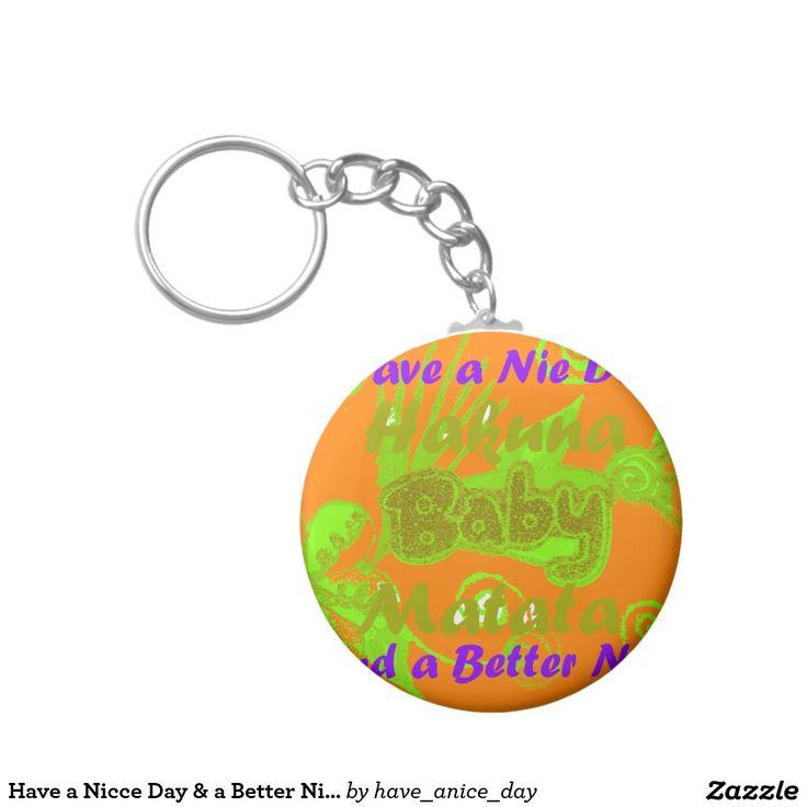 Tenha um dia de Nicce & um #Night #melhor Chaveiro #Tenha #um #day #agradável #chaveiro #considerável, #esposa, #coração #Chaveiros #Bom #Dia #Bonito
