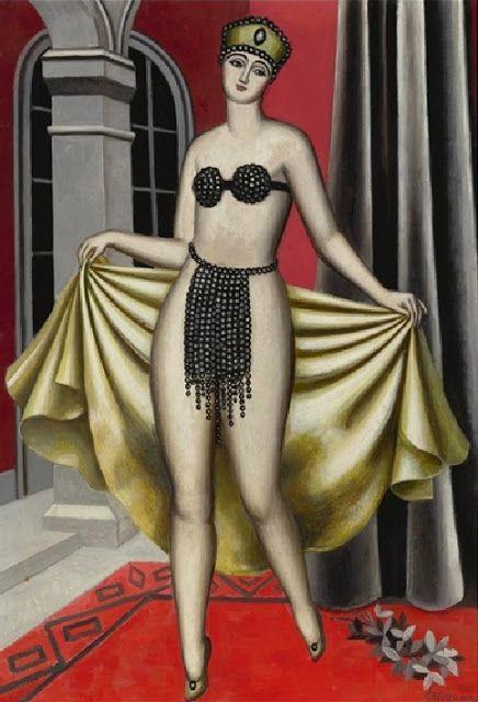 black diamonds Salome    by Jean Metzinger