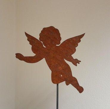 1000 ideas about gartenstecker rost on pinterest for Gartendeko engel rost