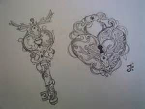 Drawings of antique lockets keys pearls bing images for Places that sell tattoo ink near me