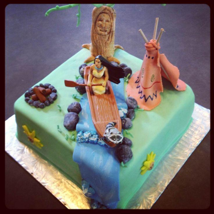 Pocahontas Cake!