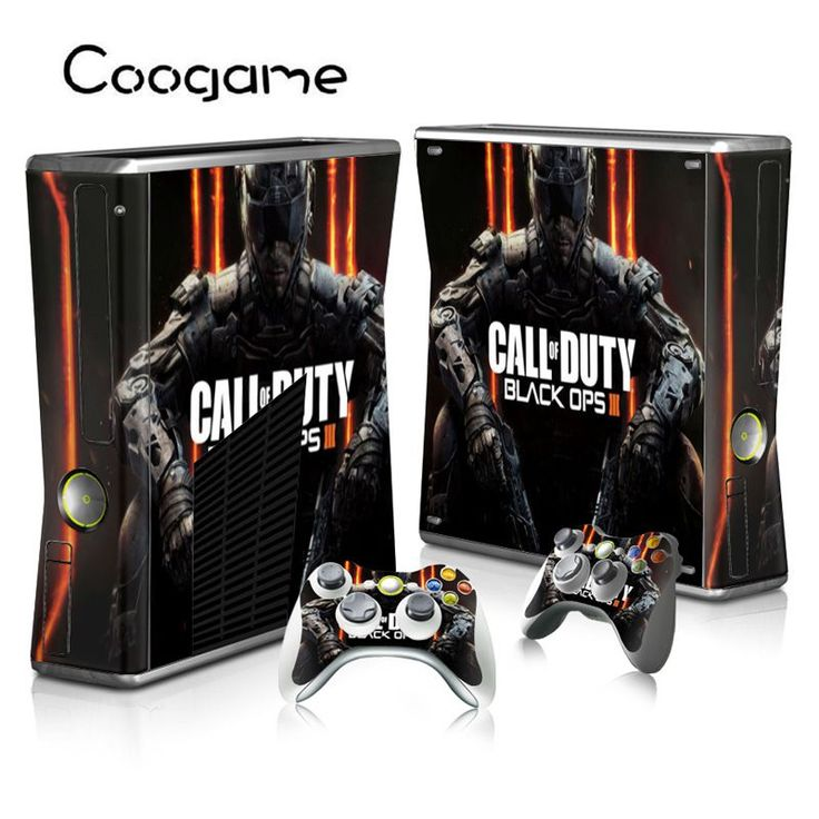 >> Click to Buy << Black Ops 3 Sticker For Microsoft Xbox 360 Slim Console & 2 Wireless Controller Pads #Affiliate
