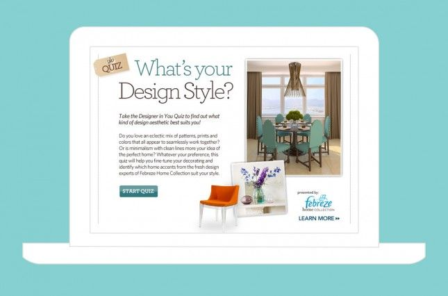 Take this quiz and discover your design style.