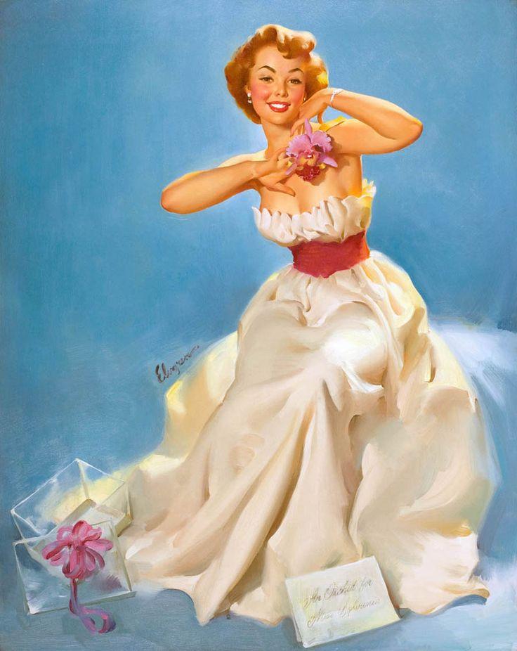 Старых открыток, образ женщины в открытке