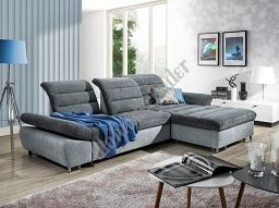 Couchgarnitur Couch Roma 3fbl+osbp mit Schlaffunktion Sofa Polstergarnitur