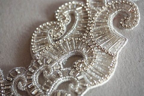 Bridal headpiece - Artdeco