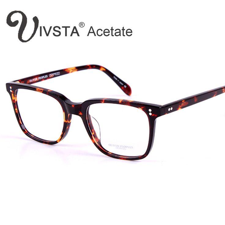Oliver Peoples OV5031 Handmade Real Acetate Glasses Frame Johnny Depp Brand Men Optical Eyewear Demi Tortoise with original logo