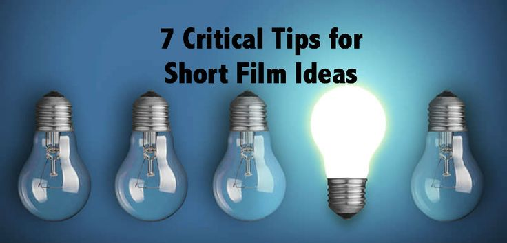 7 tips for #filmmakers. We'd add #8 - Make sure there's plenty of coffee to go round!