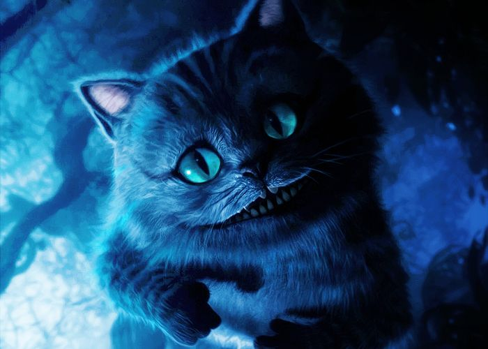 Картинки на андроид чеширский кот