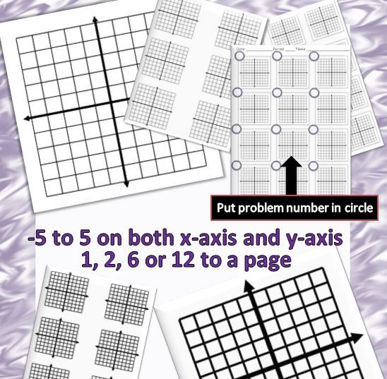 101 best Middle School Math images on Pinterest High school - graph paper with axis
