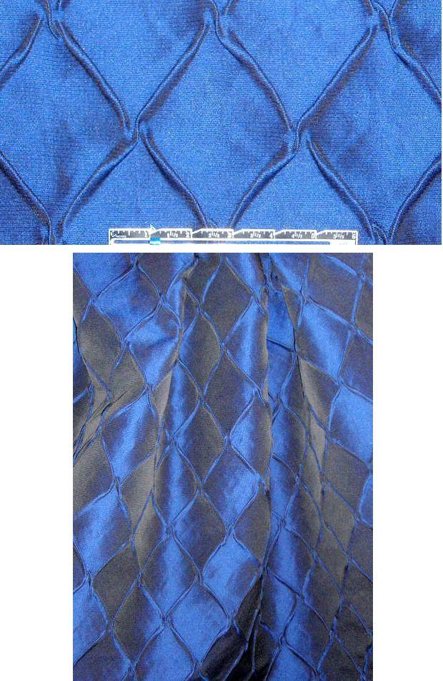 Italian sapphire diamond matelasse' brocade from EmmaOneSock.com: Design Fabrics, Italian Sapphire, Diamonds Matelass, Terry Boards, Sapphire Diamonds, Fashion Fabrics