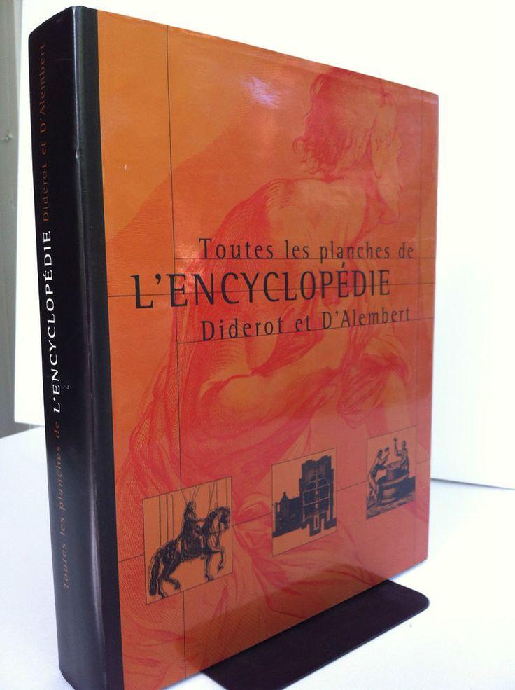 Toutes les planches de L Encyclopedie Diderot et d Alembert (2001, Hardcover)
