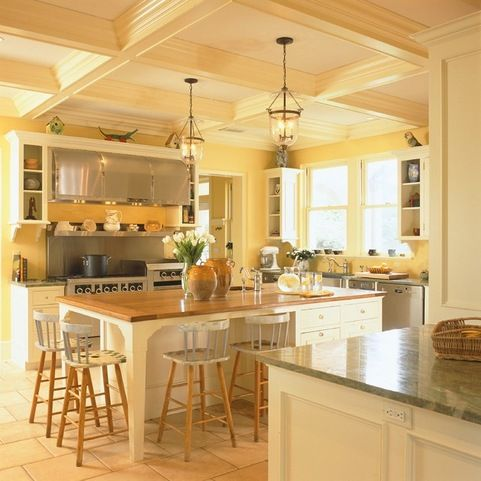 10 best saltillo tile ideas images on pinterest for Yellow and brown kitchen ideas