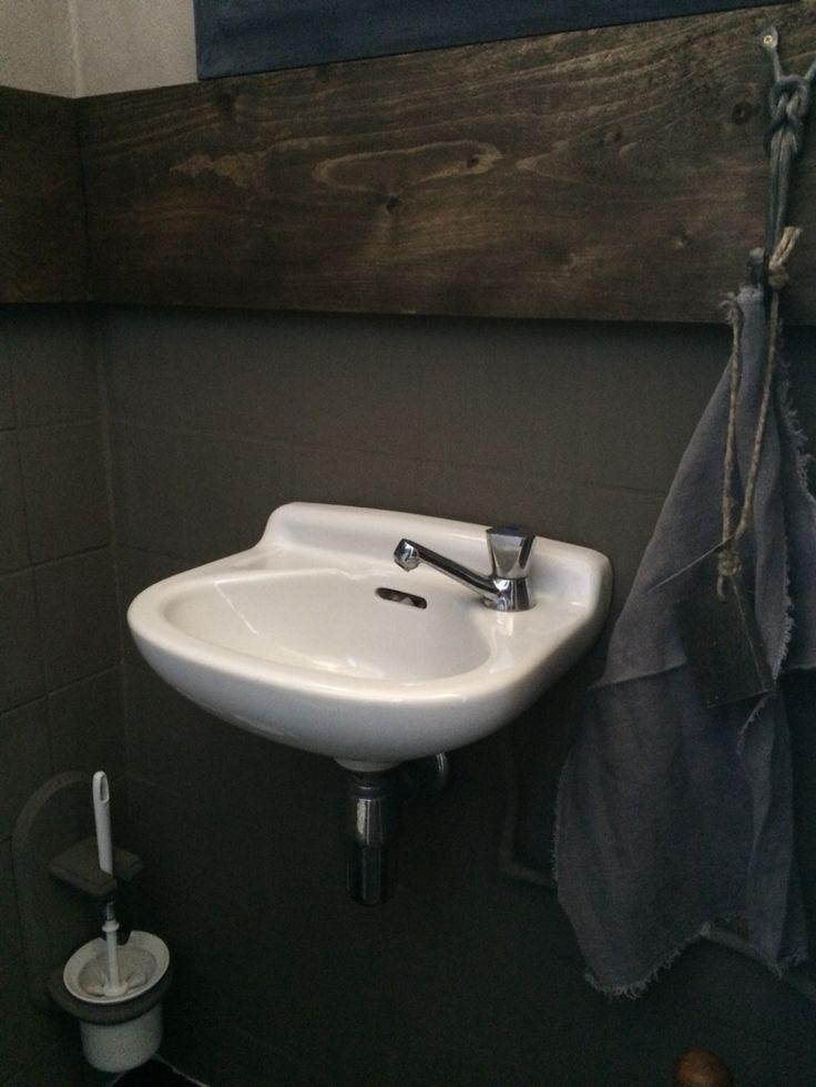 Metamorfose van de wc nu helemaal in hoffz stijl diane 39 s home pinterest toilet and - Stijl van toilet ...