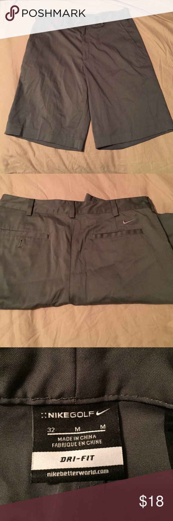 Nike dry fit shorts Gray, Nike dry fit men's shorts, great condition. Nike Shorts